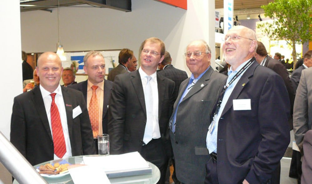 Messeteam der Expo Real 2009